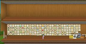The full wall of stuff! =D