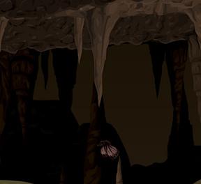 A dark, cold, cave...