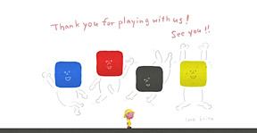 Thank you for playing with us!