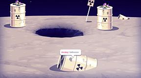 moon excavation.