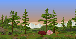@},~'~,~'~,~Trees � Mountains in Ur