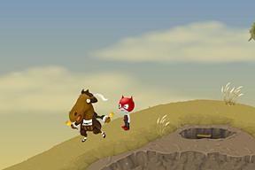 Whoa, there, horsy!!!