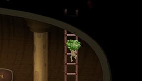 Nekkid in the tower
