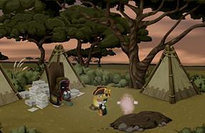 Juju bandit's hideout