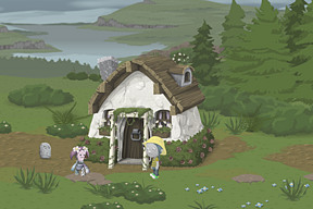 And ofcourse, the cottage itself.