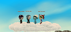 My Friends and I... Perhaps the last time we will be together on Glitch...
