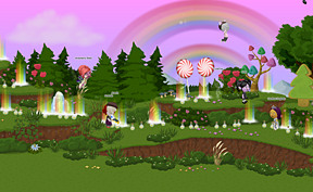 Double rainbow party! Thanks MaeBerry (MaeBeary)!