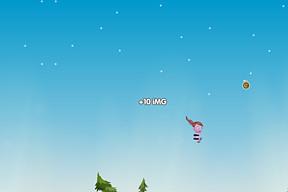 nekkid in sky flight!!!
