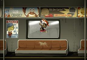 Air Guitar Subway Sloth? yup...shrugs...